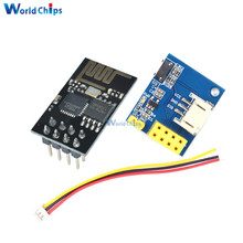 ESP8266 ESP01 ESP-01 WS2812 RGB LED Controller Module for Arduino IDE WS2812 Light Ring Smart Electronic DIY With Connector