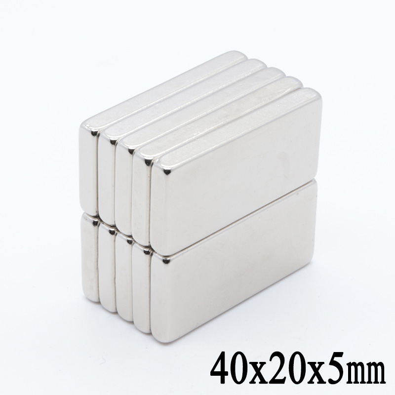 10pcs 40mm x 20mm x 5mm N35 Super Strong Neodymium Rare Earth Magnet 40*20*5 Small 40 x 20 x 5 NEW Art Craft Connection10pcs 40mm x 20mm x 5mm N35 Super Strong Neodymium Rare Earth Magnet 40*20*5 Small 40 x 20 x 5 NEW Art Craft Connection