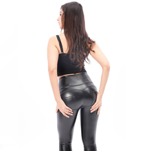Melody sex shaping брюки с высокой талией с флисовой подкладкой тренировочные леггинсы из искусственной кожи yoga брюки bum shaping в наличии forever