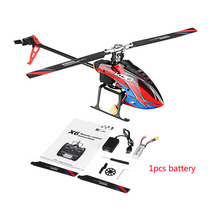 Wltoys XK K130 B 2.4G 6CH Brushless 3D 6G Flybarless BNF RC 헬리콥터 슈퍼 호환 FUTABA S FHSSRTF 송신기 없음