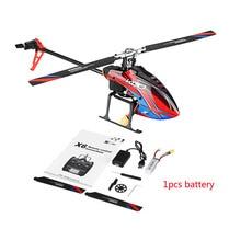 Wltoys XK K130 B 2.4G 6CH fırçasız 3D 6G Flybarless BNF RC helikopter için süper uyumlu FUTABA S FHSSRTF yok verici