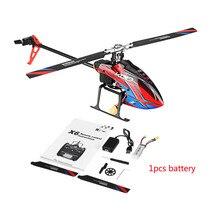 Wltoys Xk K130 B 2.4G 6CH Borstelloze 3D 6G Flybarless Bnf Rc Helicopter Super Compatibel Voor Futaba S FHSSRTF Geen zender