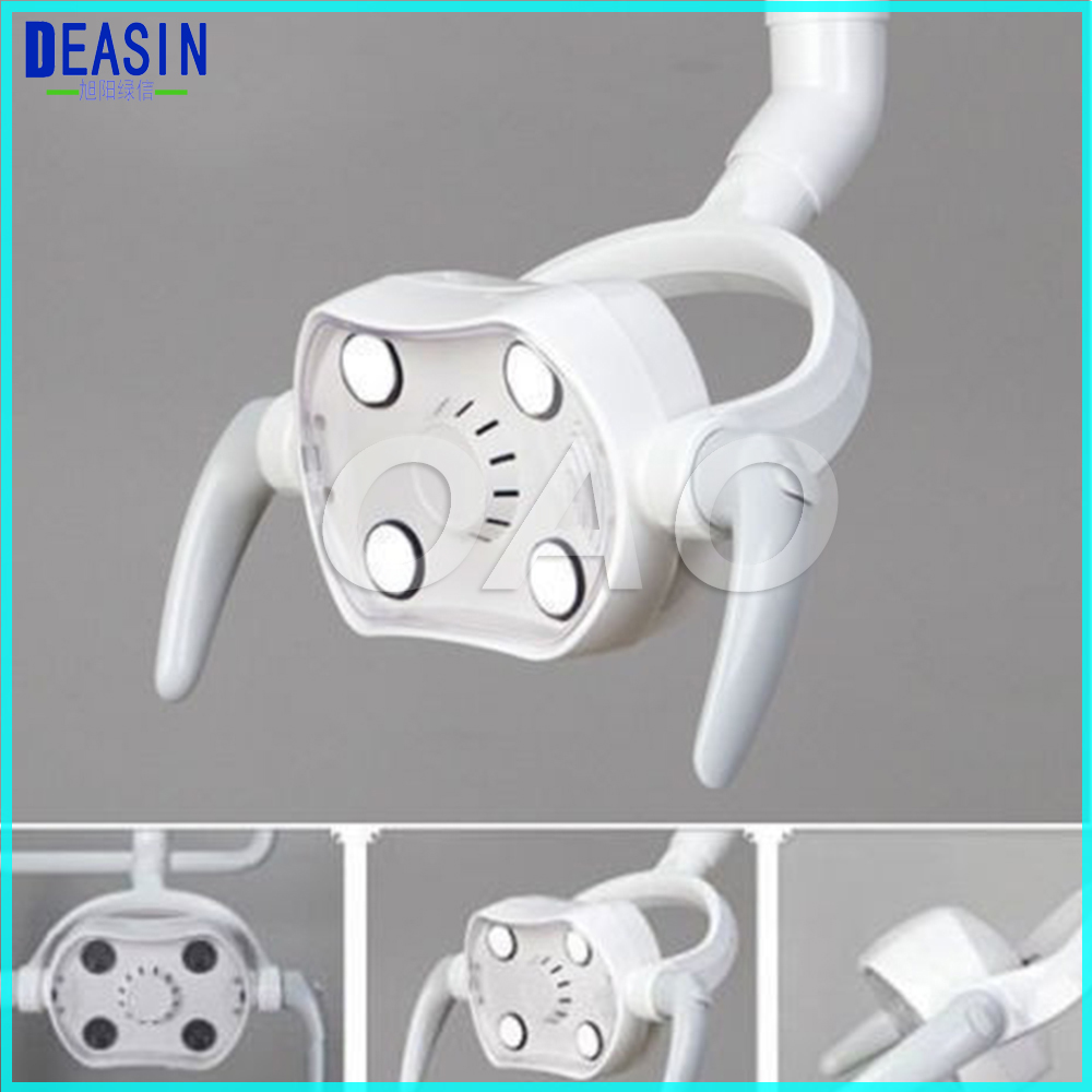 High Quality Dental shadowless dental unit chair led lamp 10W Dental Operating LED Light dental chair cold light shadowless with touch screen dental operation lighting led lamp for implant