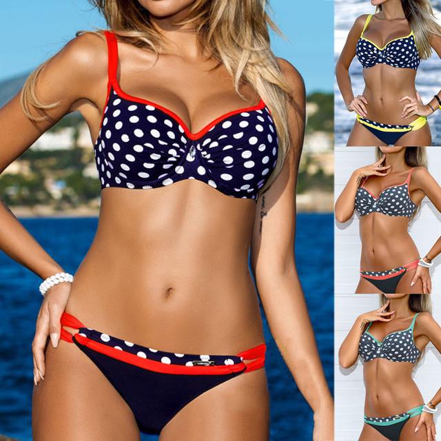 High Waist Bikini Women Swimwear Push Up