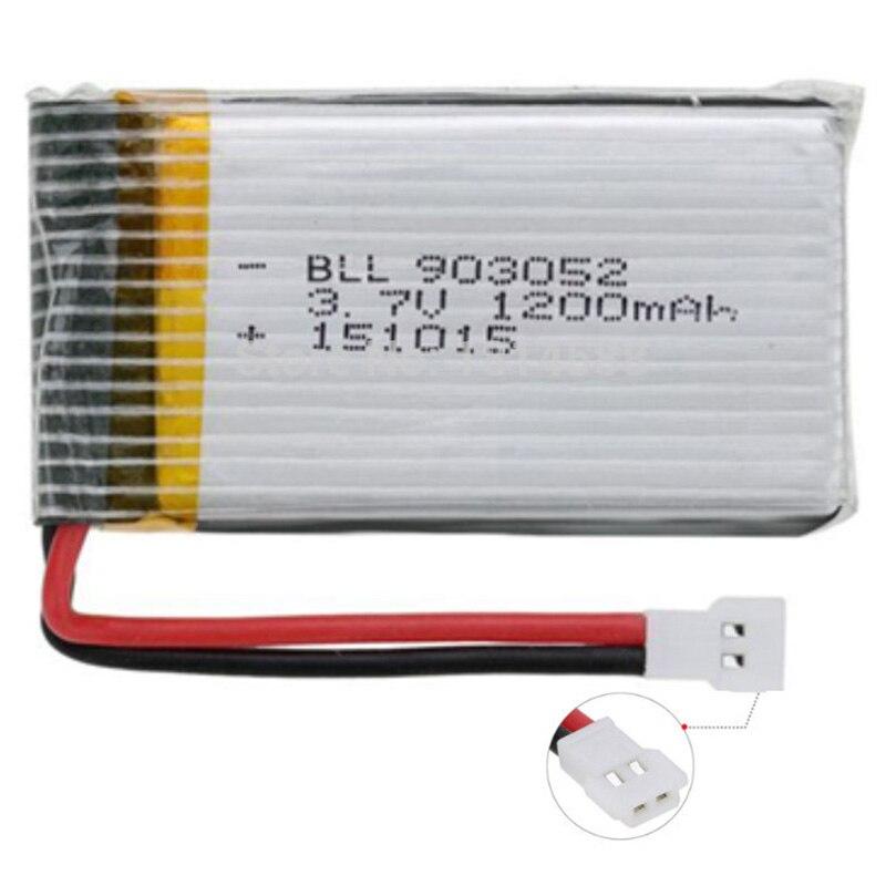 3.7V 1200Mah 25C Lipo Battery For Syma X5 X5C X5Sw X5Sc X5S X5Sc-1 M18 H5P Rc Quadcopter 1200Mah 903052 3.7V Battery For Syma