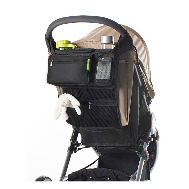 Bags Stroller-Accessories Diaper Baby-Carriage Cup-Bag Cup-Holder Wheelchair-Organizer