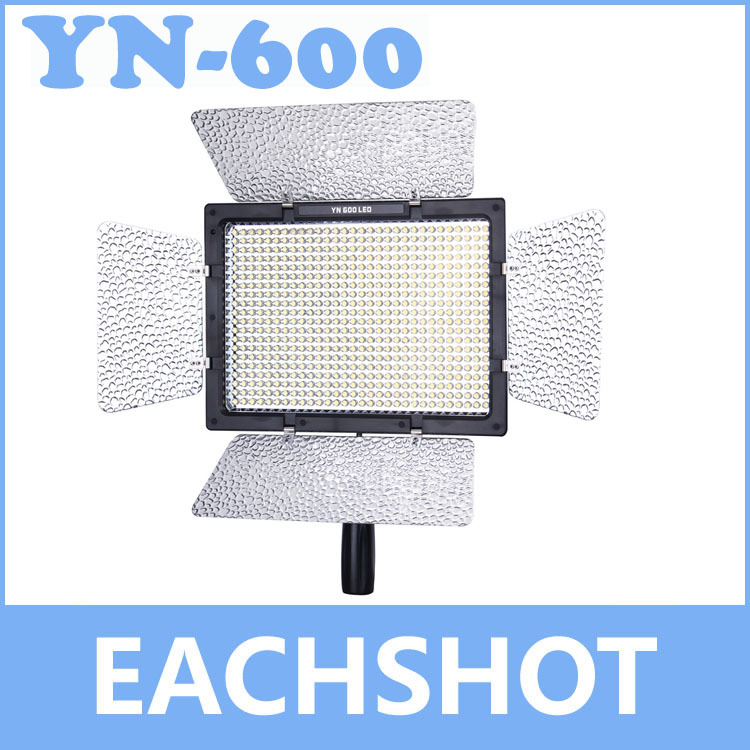Yongnuo YN-600, Yongnuo YN-600 5500K color temperature LED video light for Camcorder or DSLR Cameras