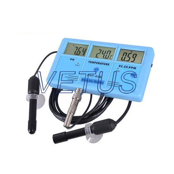 Fast shipping of EMS DHL Fedex PHT-026 Water PH Quality Monitor six in one dhl ems one new novotechnik position transducer lwh300 lwh 300