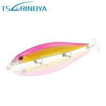 TSURINOYA Minnow Fishing Lure 12cm 19.5g 3D Eyes Suspending Hard Bait Isca Artificiais Para Pesca Wobblers Bass Fishing Tackle