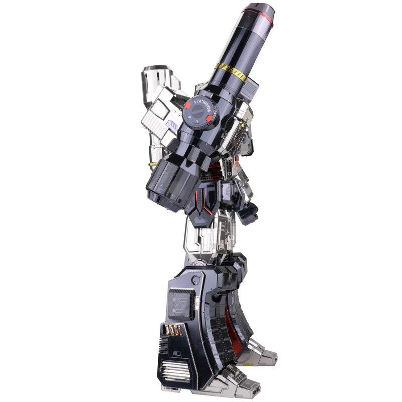 2018 MU 3D Métal Puzzle Optimus Prime G1 Megatron Modèle BRICOLAGE 3D Découpé Au Laser Assembler Puzzle Jouets CADEAU De décoration de Bureau pour Vérification - 3