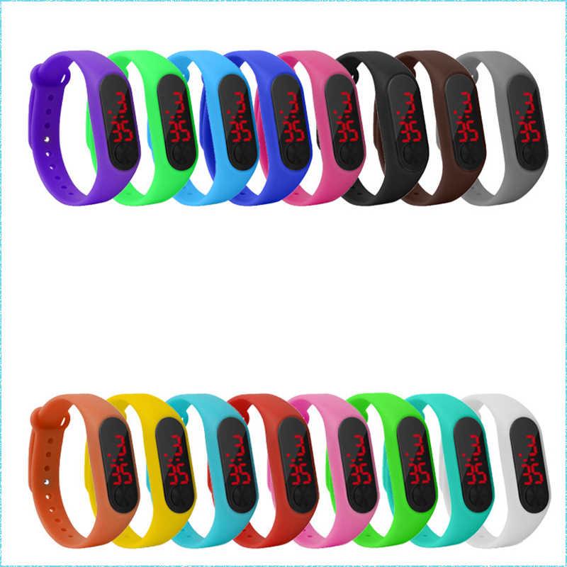 Часы для мальчиков и девочек, овальные светодиодные спортивные детские часы с пластиковым ремешком, электронные цифровые часы, наручные часы, подарки, Reloj Nino