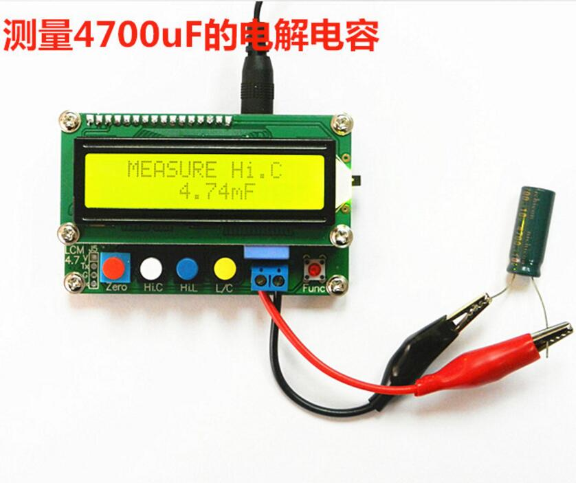 LC100-A Digital LCD Inductance  table  Capacitance L/C Meter capacitor Test Instruments  цены