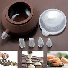 Bocais conjunto de silicone grau alimentício creme pastelaria cozinha gadgets decoração do bolo ferramentas pastelaria muffin tubulação macaron pot cozimento