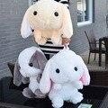 Cute 45cm Big Ears Loliat Bunny Backpack Plush Soft Doll Animal Stuffed Toy Bag Forgirls Baby Kids Birthday Gifts Good Quality