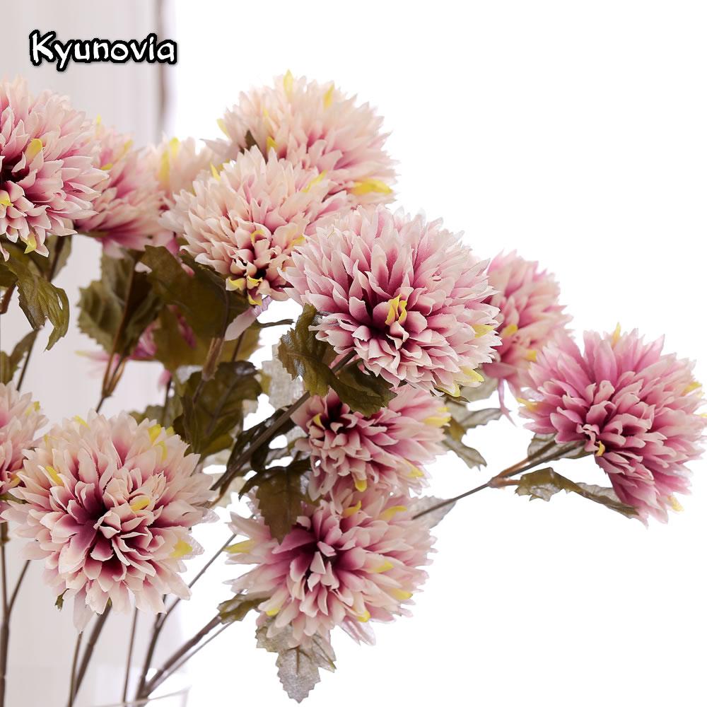Dahlia Silk Flowers Gallery Flower Wallpaper Hd