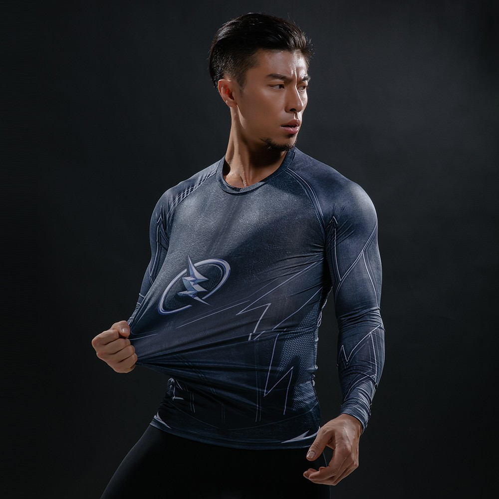 Punisher 3D Printed T-shirts Men Compression Shirts Long Sleeve Cosplay Costume crossfit fitness Clothing Tops Male Black Friday 52