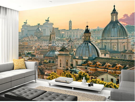 Custom modern wallpaper.Rome,3D retro photo mural for living room bedroom restaurant background wall waterproof PVC wallpaper custom photo wallpaper large mural retro old newspaper english letter bar hot pot restaurant background wall wallpaper mural