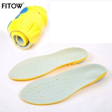 High Quality PU Silicone Gel Sports insoles Running Massage Pain Relief Support Shoes Insoles Insert Pads Cushion Basketball цена