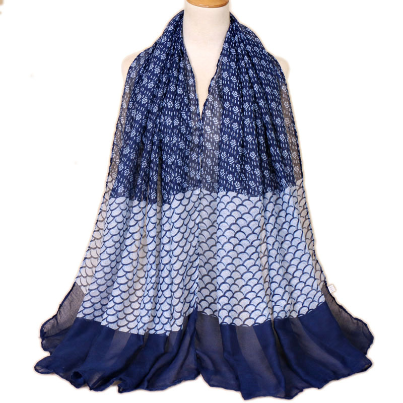 2019 New Design Femal Floral Print Shawls   Wrap   Long Pashmina   Scarf   For Women Muslim Hijab Foulard Femme Winter Cape Bandana