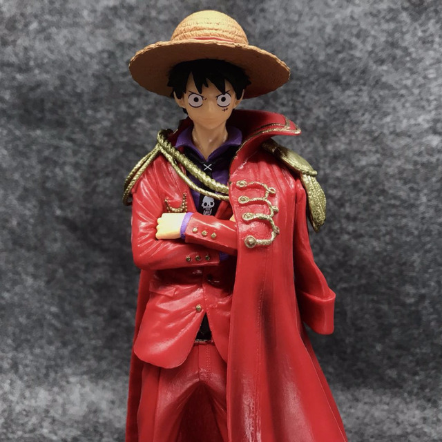 One Piece Luffy Rey de los Piratas Figura de Acción