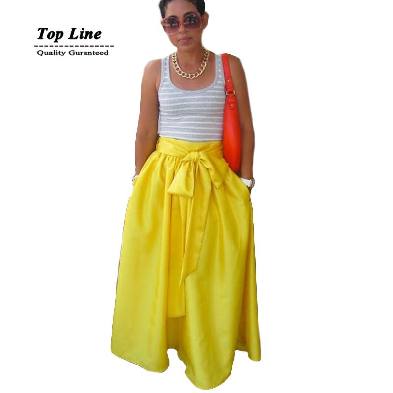 Maxi Skirt High Waist