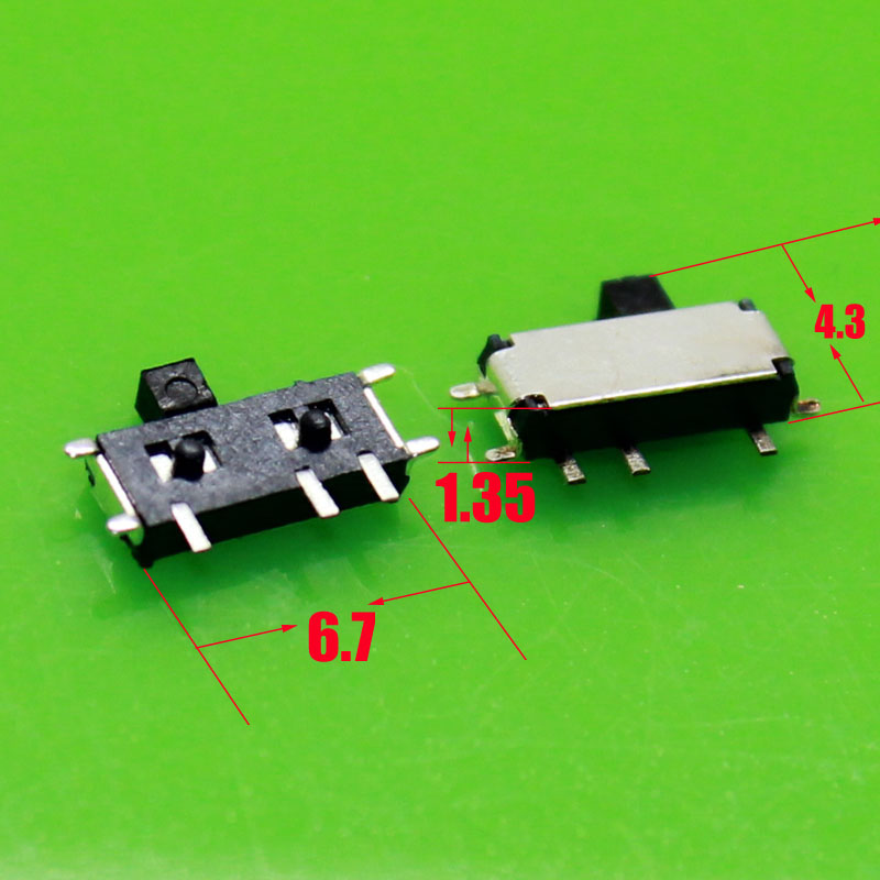 [Seven feet] electronic diy kit Stubbs MSK-12C01-07 (1P2T) SMD toggle switch (50pieces) soobshhenie ot strelkova 01 08 2014 2211 msk