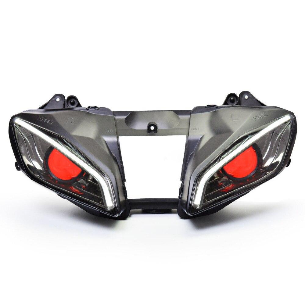 KT LED faro para Yamaha YZF R6 2008-2016 V2
