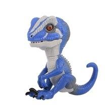 15% Fingertip синий интерактивный детский динозавр умный сенсорный индукционный питомец