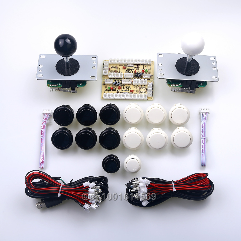 Arcade Sanwa DIY Kits Parts Sanwa Fight Buttons & Select Buttons & PC Circuit Board & Sanwa Stick Arcade FightStick Tournament arcade fire arcade fire suburbs
