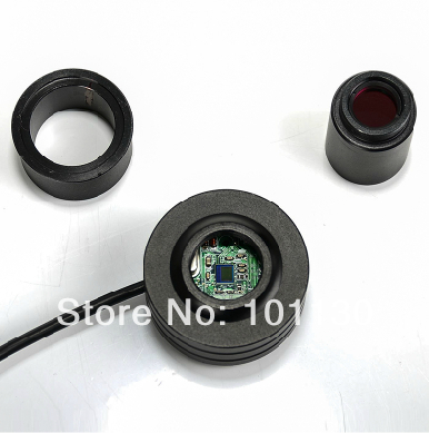 0.35MP USB Digital electrical Eyepiece All Metal CCD Electronic Eyepiece for Astronomical telescope or Microscope biological microscope astronomical telescope 1 3mp usb digital electronic camera eyepiece with measurement