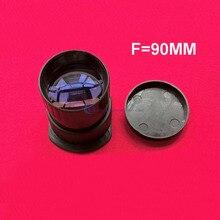 Fuente de la fábrica! Full HD led proyector DIY lente F = 90mm longitud focal dqpl-f90 lente de proyección para 2-4.6 pulgadas mini Proyectores LCD