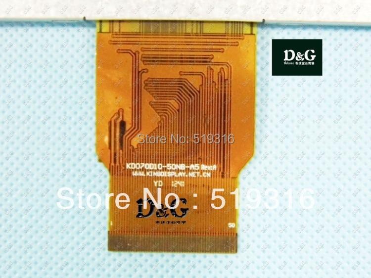 Newman t7 7inch  lcd screen hd e-book reading display kd070d10-50nb  KD070010-50NB-A5