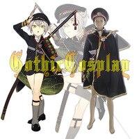 Touken Ranbu Online Hotarumaru Samurai Uniform Japanese Video Game Cosplay Costume Military