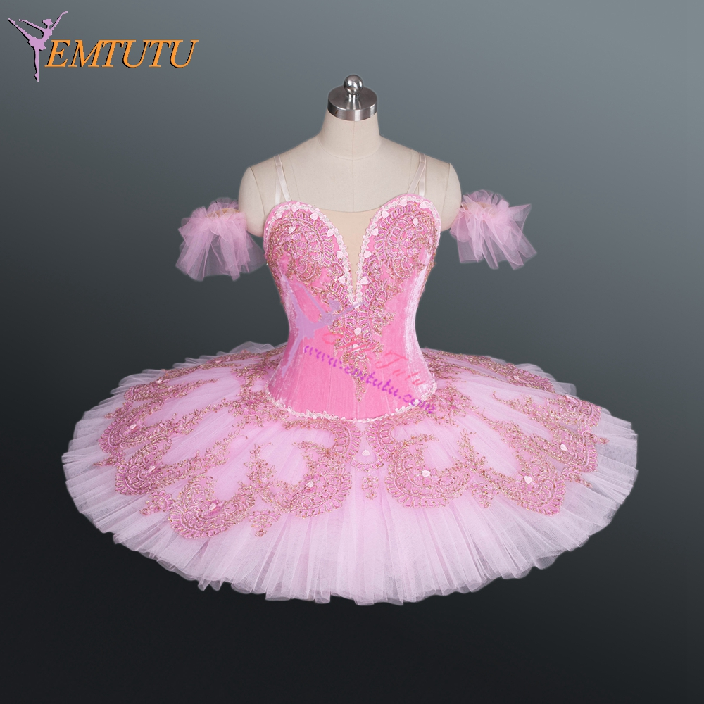 Adults Professional Ballet Tutus Pink Gold Women ...