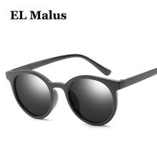 38583f4a2e [EL Malus] gafas de sol con montura redonda para hombre gafas de sol Retro