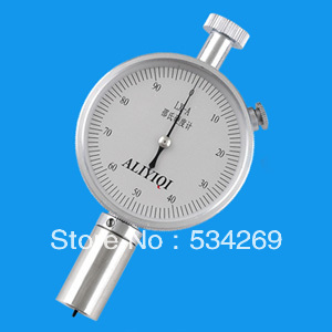 Range 20-90HD Pointer Hardness Tester with Pressure Needle Stroke 2.5mm / Hardness Gauge common hard rubber meter shore d hardness tester with single pointer analog sclerometer lx d 1 shore durometer gauge