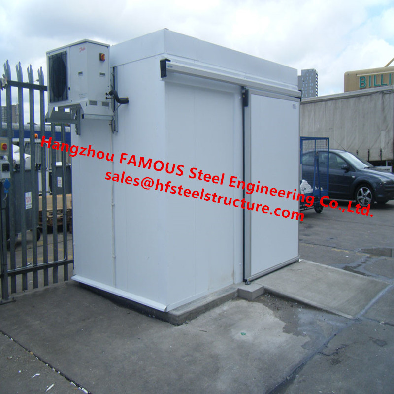 Mini Cold Camera With Integrated Condensing unit Small Home Walk In Freezer For Fruit Vegetables and Meat Storage