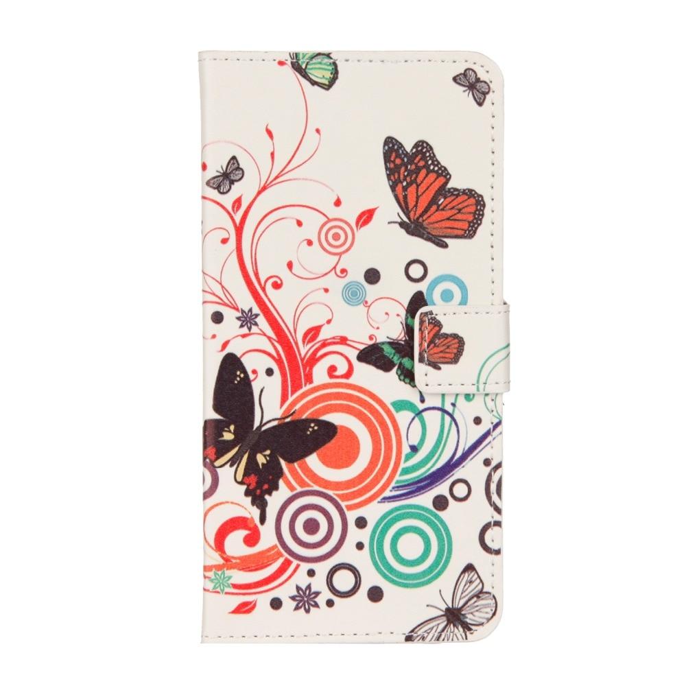 Flip Case for Xiaomi Mi5, Redmi Note 3,Mi 5X, Mi 6 PU Leather Butterfly Tower Sleepy Owl Retro Pattern Wallet case Mi A1, Mi 6