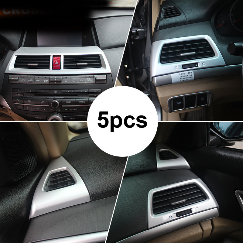 5pcs For Honda Accord 2008 2012 Air Conditioning Outlet