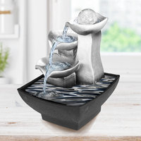 Rockery Relaxation Indoor Fountain Waterfall Feng Shui Desktop Water Sound Table Ornaments Crafts Home Decoration Accessories