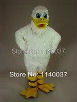 Крякалки утка Маскоты костюм белый плюшевый утка Пользовательские необычные костюмы аниме косплей комплекты Маскоты te нарядное платье кар