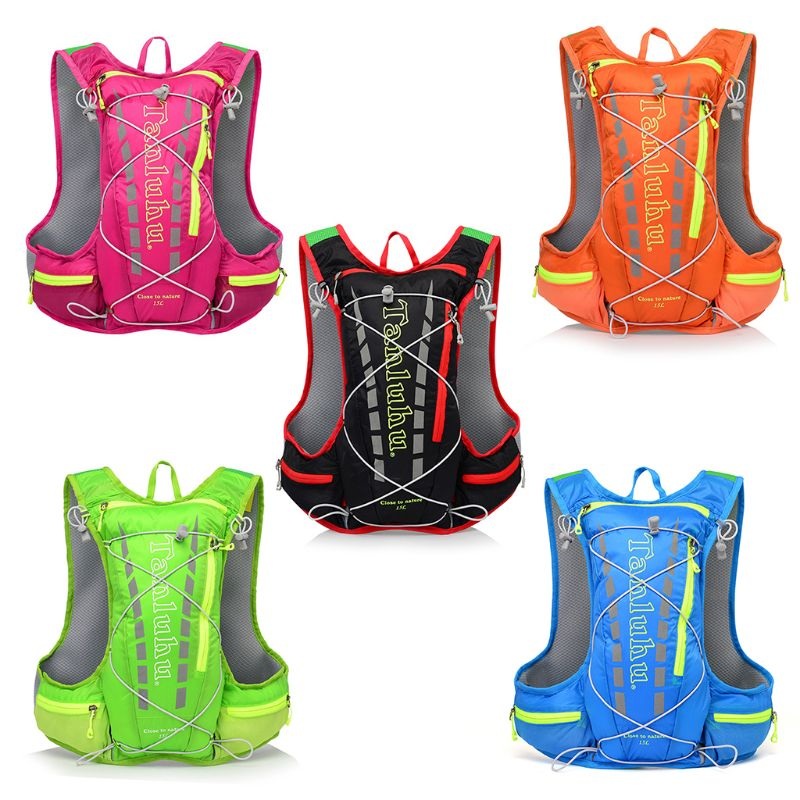 TANLUHU Lightweight Running Hydration Vest Backpack Rucksack 15L Outdoor Cycling Hiking Climbing 2018 Large Laptop Backpack