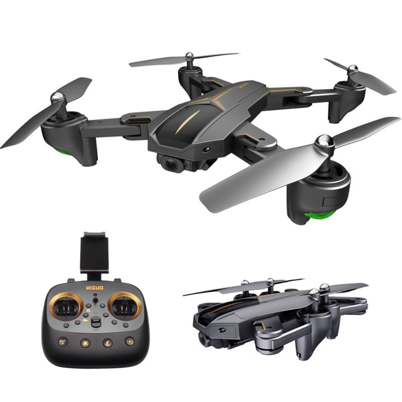 Leadingstar Shrc H1w 2.4g Optical Flow Positioning 1080p Wifi Fpv Rc Drone Vs E58 Xs812 Rc Quadcopter Rc Helicopters