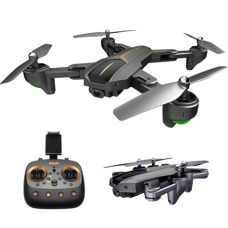 цена на VISUO XS812 RC Drone GPS With 2MP/5MP Camera HD 5G WIFI FPV Foldable Selfie RC Quadcopter Helicopter VS SG900 E511 E58 Dron