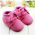 2016 New Girl Toddler Soft Classic Pink Wool baby princess shoes soft non slip bottom shoes wholesale