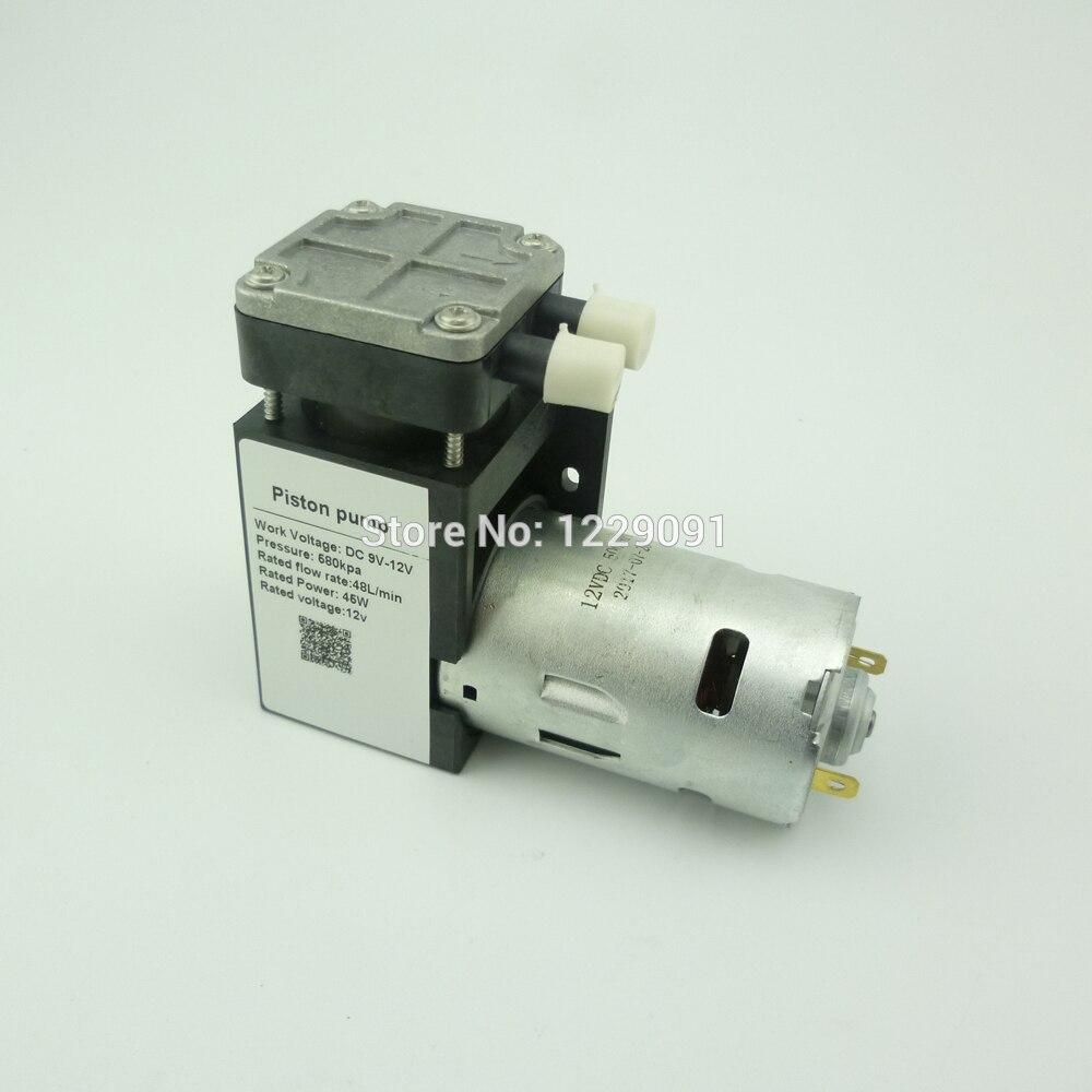 Nuotrilin dc 12 v micro pompe à vide électrique pompe à air à piston