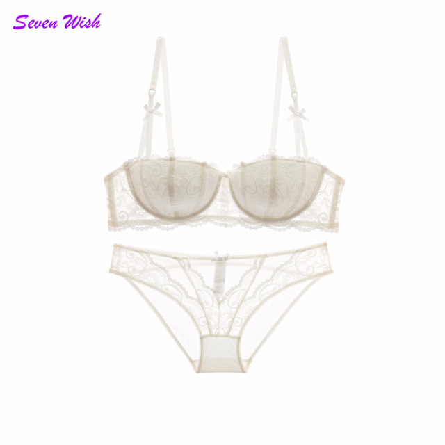 48c47ee7cd Hot lingerie sexy lacy underwear set push up fashion royal vines jacquard  lace cup bra set hot sexy undies