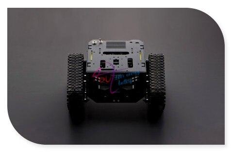 New DFRoBot 100% Genuine Devastator Tank/Smart car/Robot Mobile Platform, 3~7.5V 160 RPM 0.8 kg for Arduino / Raspberry Pi B/B+ mobile robot motion planning