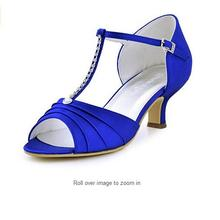 29b2609c4 Verão As Mulheres Sapatos de Casamento Nupcial Branco Do Marfim Salto Baixo  T-Alça de