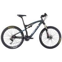 27 5er Carbon Suspension Bicycle 650b Mountain Bike Carbon Shima Complete Suspension Bike 16 18 20inch